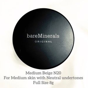 bareMinerals Makeup - bareMinerals Original Foundation Medium Be…